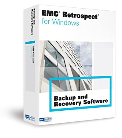EMC RETROSPECT 7.5 SINGLE SVR WINDOWS