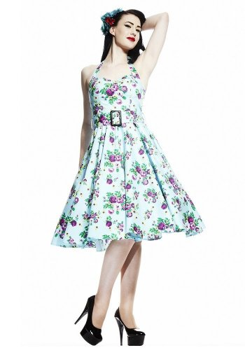 Hell Bunny Women's May Day 1950s Rockabilly Swing Dress