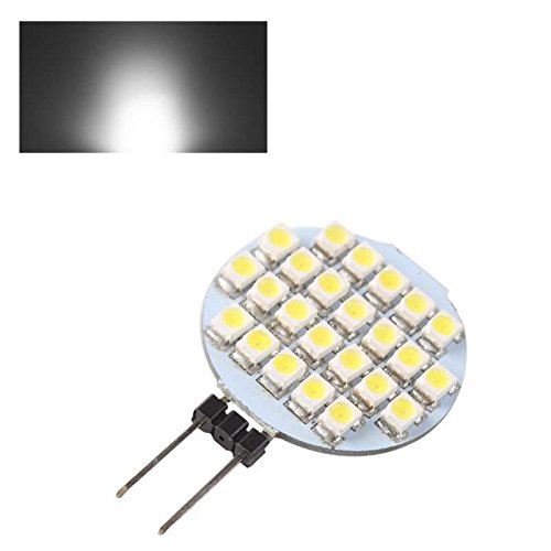 Fashion Partical G4 24 Smd 3528 Led Light Warm Pure White Camper Marine Bulb Lamp 12V Dc 2W