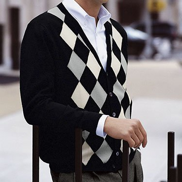 Knitting Pure & Simple Mens Cardigan Pattern #264 - Knitting Yarns
