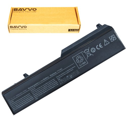 Bavvo 6-cell Laptop Battery for Dell Vostro 1310,1320,1510,1520,2510,PN: 0N241H,312-0724,312-0859,451-10586,451-10655,K738H,N950C,T114C,U661H