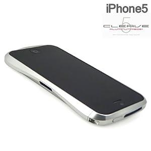 [SoftBank/au iPhone 5専用]CLEAVE ALUMINUM BUMPER (ラグジュアリーシルバー)