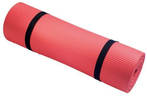 "Harbinger 340303 Durafoam Exercise Mat 5/8"" x 24"" x 72"" (Red)"