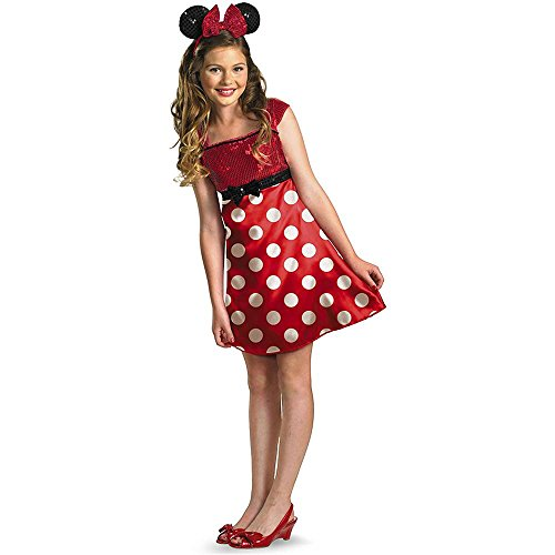 Red Minnie Mouse Kids Costume
