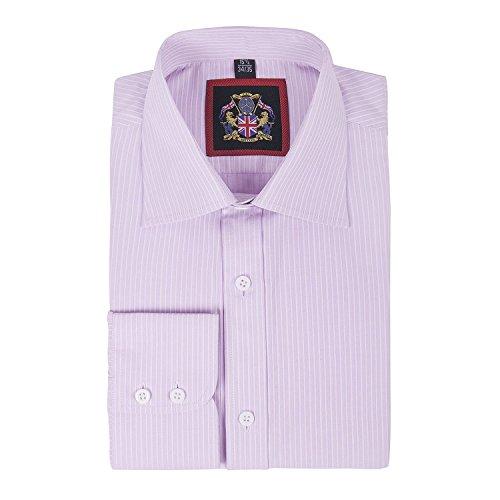 janeo-british-ropa-de-marca-classic-canterbury-de-rayas-para-hombre-camisa-single-y-doble-puno-funda