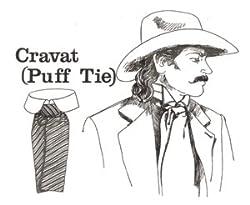 Cravat (Puff Tie) Pattern