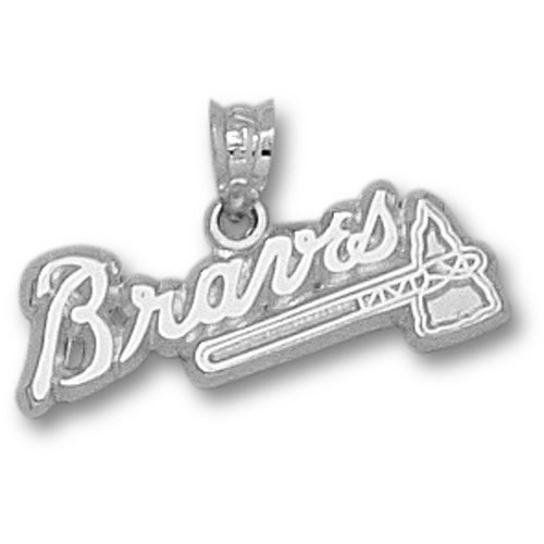 Atlanta Braves MLB Sterling Silver 3/8 Charm