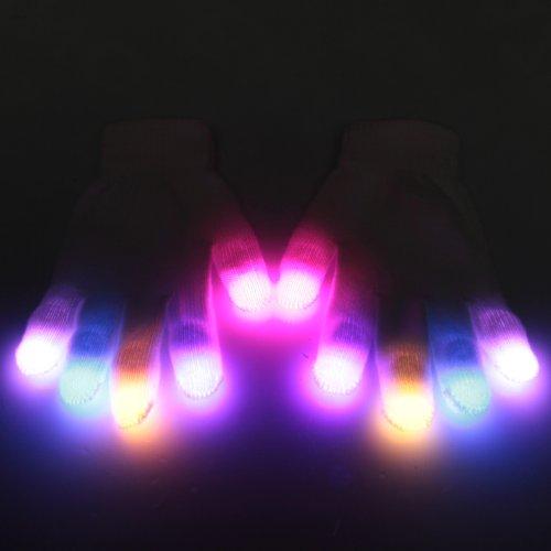EmazingLights Nebula eLite LED Light Up Glove Set – As Seen on Shark Tank!
