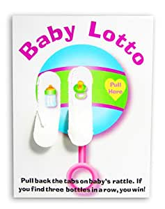Amazon.com : Baby Shower Lotto Game Cards (1-Pack of 24