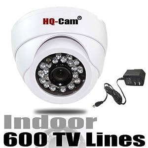 HQ-Cam® Security Surveillance Camera - 600TV Color Lines High Resolution 1/3