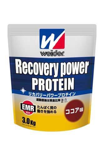 ウイダー リカバリーパワープロテイン ココア味 3.0kg 28MM12301 EMR配合