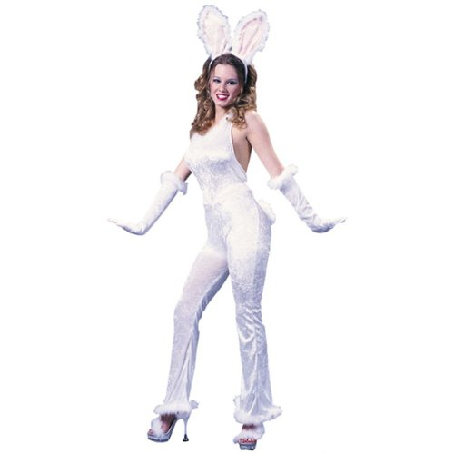 Bunny Sexy Velvet Costume - Small/Medium - Dress Size 2-8
