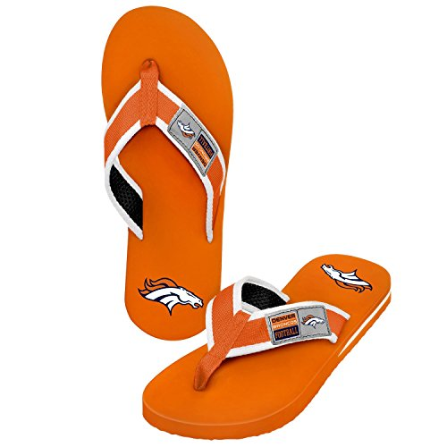 2015 NFL Football Mens Locker Label Contour Beach Summer Sandal Flip Flops football forever football hits