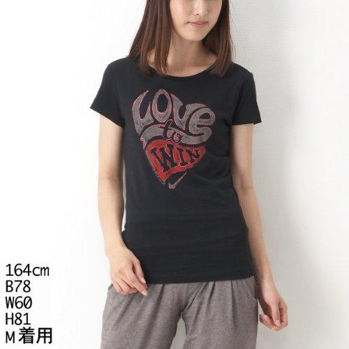 ナイキ(nike) レディスTシャツ(ナイキ ATH DEPT バレンタインデー S/S Tシャツ)