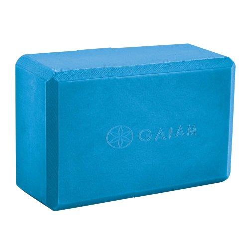 Gaiam Recycled Yoga Block (Pacific Blue)