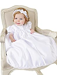 Ashley 3 Month Christening Gowns for Girls. Made in the USA.