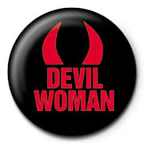 Devil Woman - Teufel - Ansteck Button Ø2,5 cm