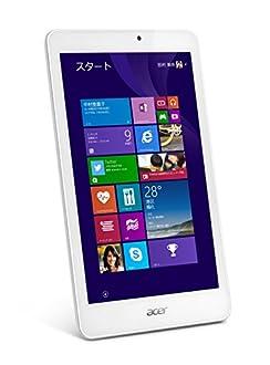 acer Iconia Tab 8 (Atom Z3735G/1GB/32GB eMMC/8.0インチ/Win8.1withBing) W1-810-F11N