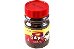Folgers Classic Roast Instant Coffee 4oz