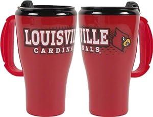 Louisville Cardinals 16 oz Plastic Roadster Travel Mug