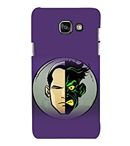 printtech Two Face Gotham Back Case Cover for Samsung Galaxy A5 (2016) :: Samsung Galaxy A5 (2016) Duos with dual-SIM card slots
