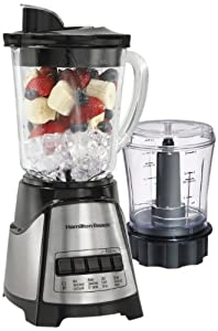 Hamilton Beach 58149C Power Elite Blender with Chopper