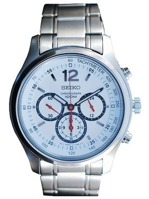 Seiko Chronograph Srw007p1 Srw007p Men's Watch Seiko Chronograph Srw007p1 Srw007p Srw007 Men's Watch