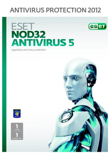 Eset NOD32 Antivirus 1 User 1 Year (PC) Frustration free packaging