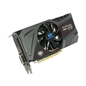 Sapphire HD7770 OC Version Grafikkarte (PCI-e, 1GB GDDR5 Speicher, HDMI, DVI-I, mini-DisplayPort aktiv)