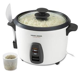 Black & Decker RC436 16-Cup Rice Cooker, White by Black & Decker
