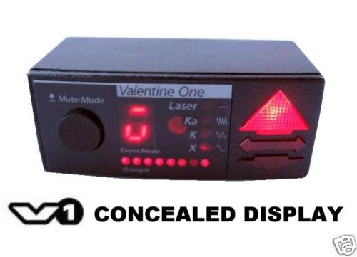 Valentine One Concealed Display for Radar Detector