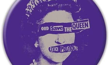 セックスピストルズ / SEX PISTOLS Sex Pistols God Save the Queen badge 【公式商品 / オフィシャル】