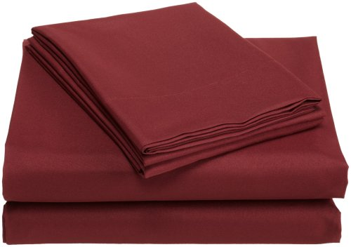 Good  Home Fashions Microfiber Twin Sheet Set Magenta