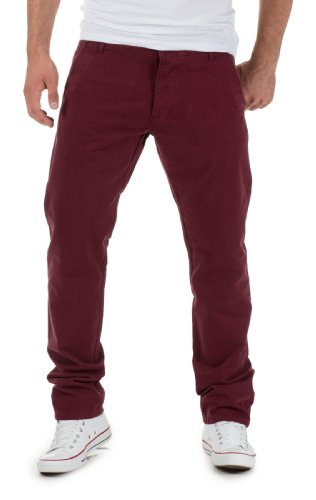 Jack & Jones Herren Chino Hose by Jack and Jones Jeans H/M 2013 Star MOD 9145 rot D.G
