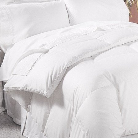 luxurious 800 thread count hungarian goose down comforter king size 750 fill power 50 oz fill. Black Bedroom Furniture Sets. Home Design Ideas