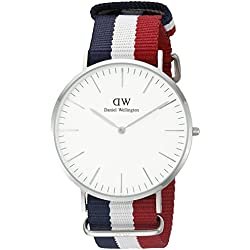 Daniel Wellington 0203DW Cambridge Silver Mens Quartz Watch
