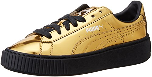 Puma Basket Creepers Metallic W Scarpa gold