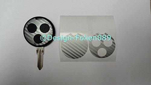 carbon-film-decor-argent-cle-key-smart-fortwo-450-brabus-amg-cabriolet-coupe