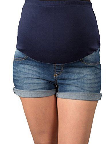 mija-short-jeans-umstandsshorts-maternity-pants-with-bandage-for-the-belly-for-summer-9037-black-uk-