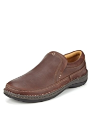 Airflex™ Comfort Leather Slip-On Shoes