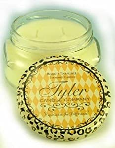 Tyler Candles - French Market Scented Candle - 11 Ounce 2 Wick Candle