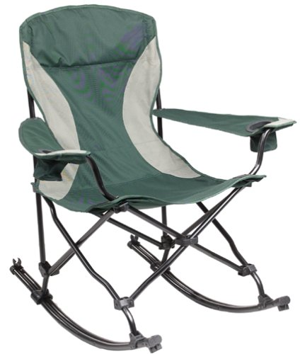 Hot MAC Sports Malibu Rocking Chair Green Best Prices Lawn Chairs MAC