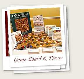 CONVIVIUM Cooking Entertainment Board Game