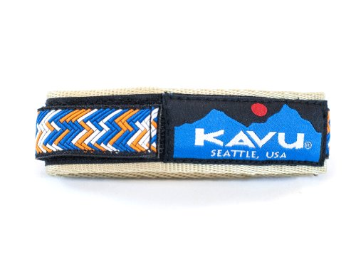 KAVU Watches savings price: KAVU Watchband, Large, Patterned Gold
