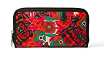 Fossil Key-Per Zip Clutch Sl4115919 Color: Floral Wallet