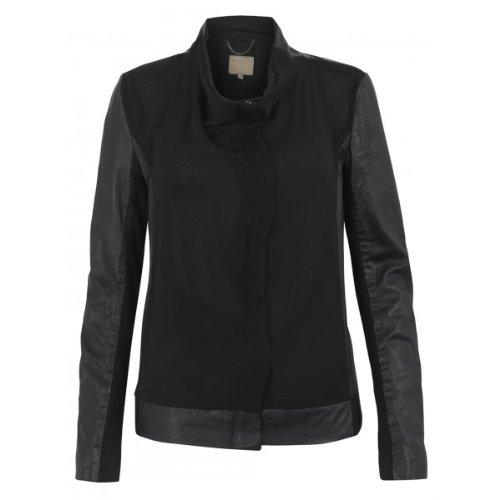 muubaa-antares-leather-chiffon-bomber-jacket-in-black