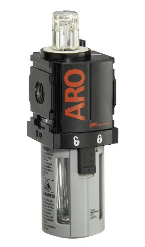 Ingersoll Rand L36121-100-VS 1/4-Inch Lubricator, Black/Gray