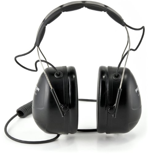 3M Peltor Listen-Only Headset, Mp3 And 2-Way Radio Compatible front-354110