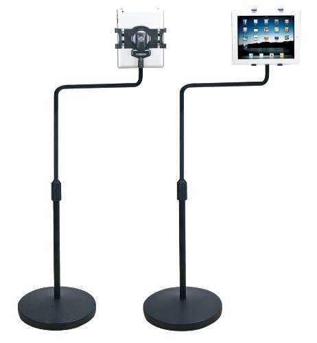 Mobotron Mh-207 Universal Tablet Floor Stand With Swivel L-Arm For Ipad1~4, Ipad Mini, Galaxy Tab, Nexus 7/10, Kindle Fire, Other Tablet Pc, And Ebook Readers front-340122
