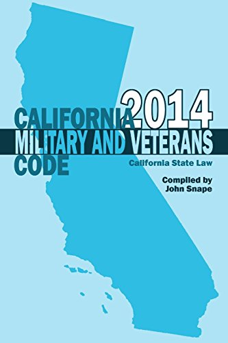California Military and Veterans Code 2014